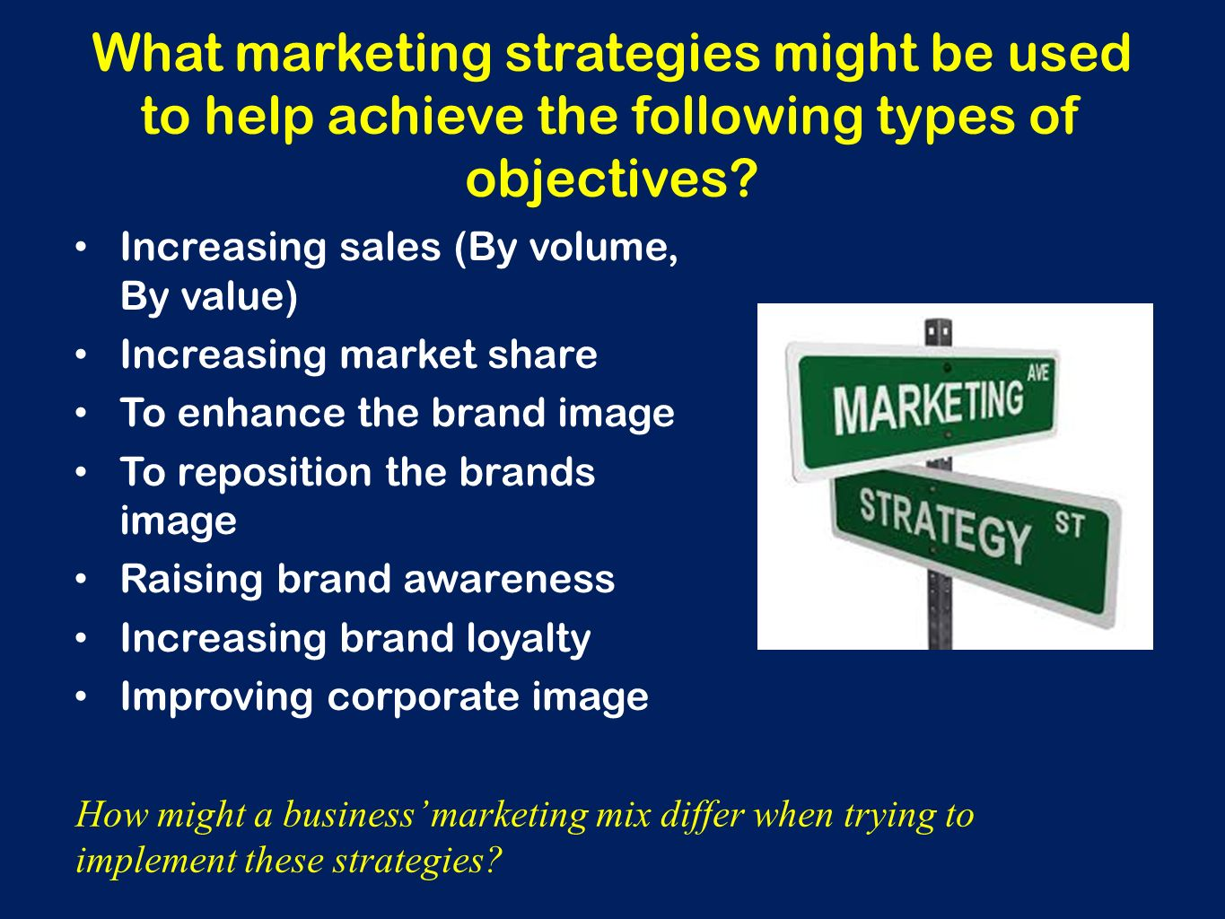Three Objectives of Brand Awareness