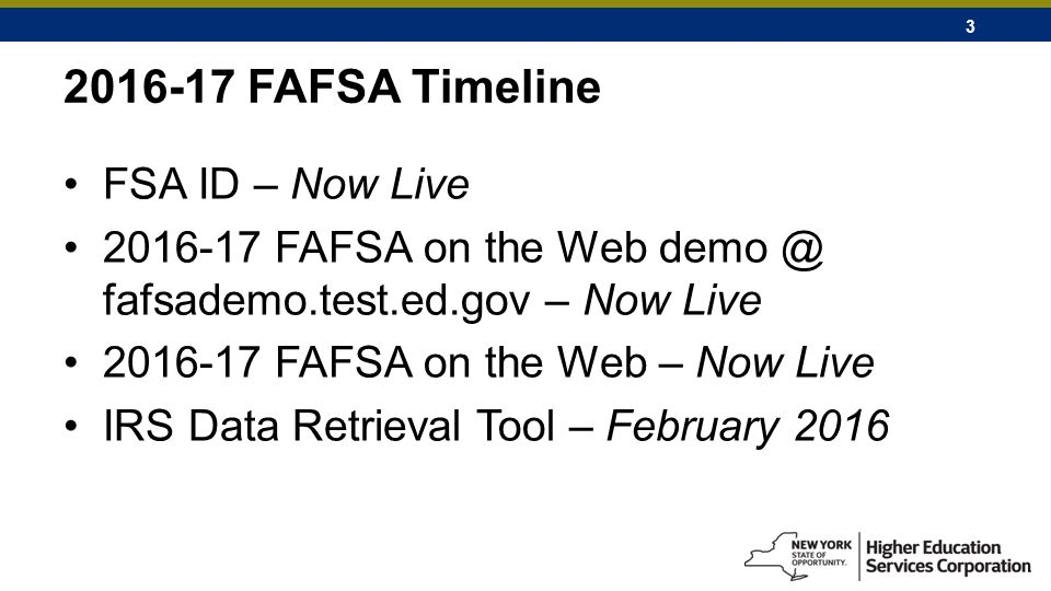 Federal and New York State Update - ppt download