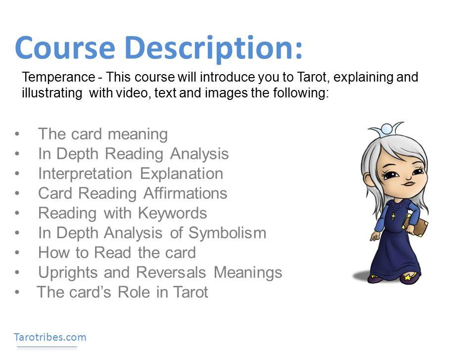 course description the card meaning in depth reading analysis