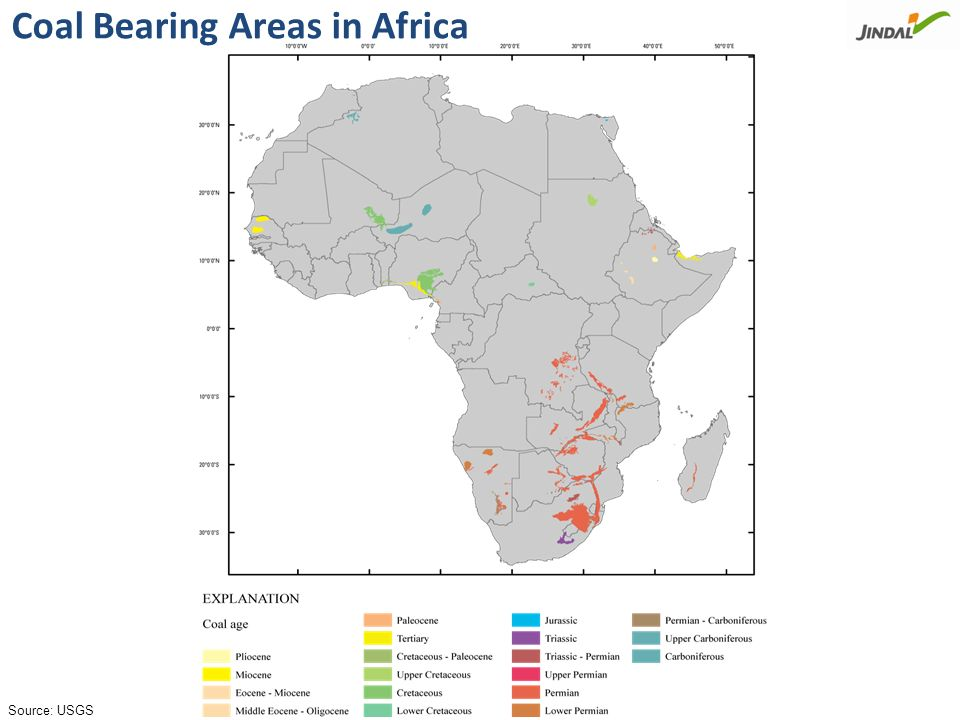 Just 3% of upcoming coal based MW capacity worldwide is based in Africa