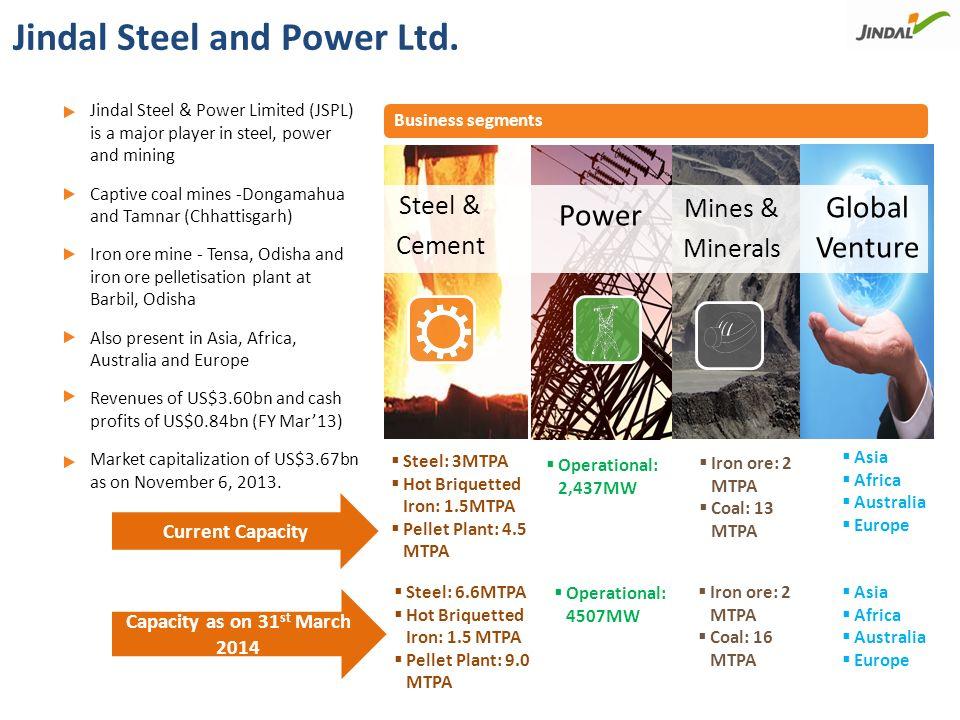 Overview of Steel Facilities
