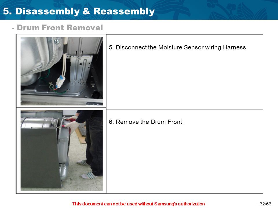 5.+Disassembly+%26+Reassembly hudson dryer training manual ppt download  at bayanpartner.co