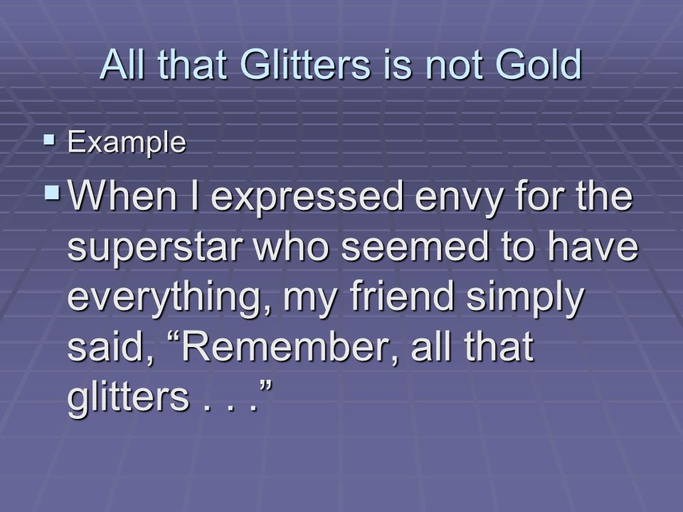 all that glitters is not gold All that glitters is not gold biblical reasons why 'promise keepers' is wrong by ab brown.