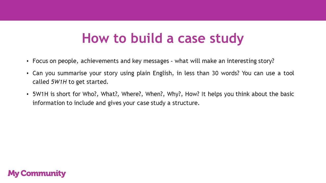 Case Study Maker – Case Study Template and Examples
