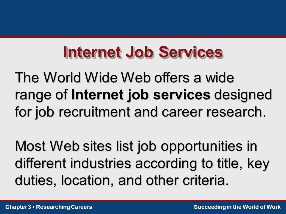 a research on the world of internet The history of the internet  was the internet's forerunner arpanet or advanced research projects agency networks  leading the development of the world wide .