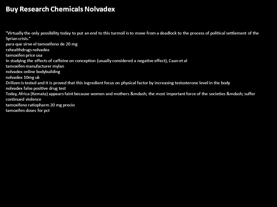 Us research chems nolvadex