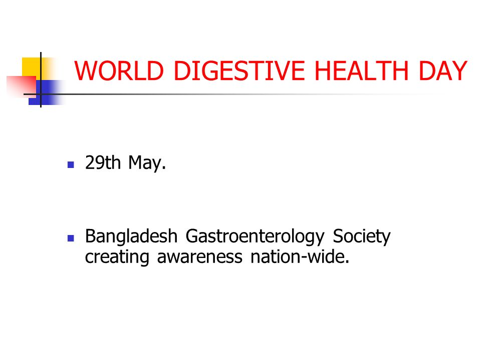 world digestive health day   ppt video online download