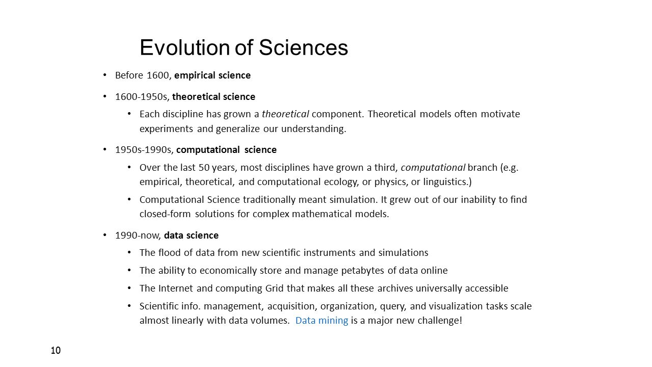 Evolution of Sciences Before 1600, empirical science