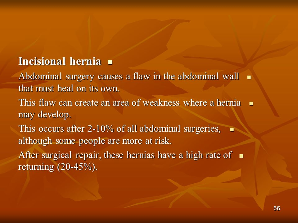 how to help a hernia heal