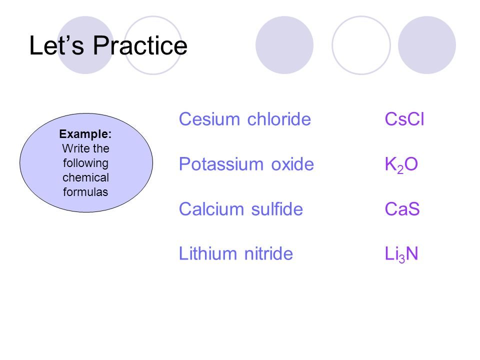 how to write chemical formulas Chemical formula writing worksheet two  chemical formula writing worksheet solutions write chemical formulas for the compounds in each box.