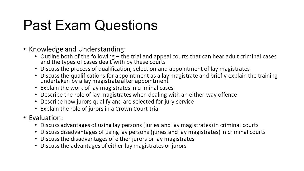 describe the role of magistrates in Extracts from this document introduction magistrates (a) explain the role that magistrates play in the criminal justice system magistrates are involved with many.