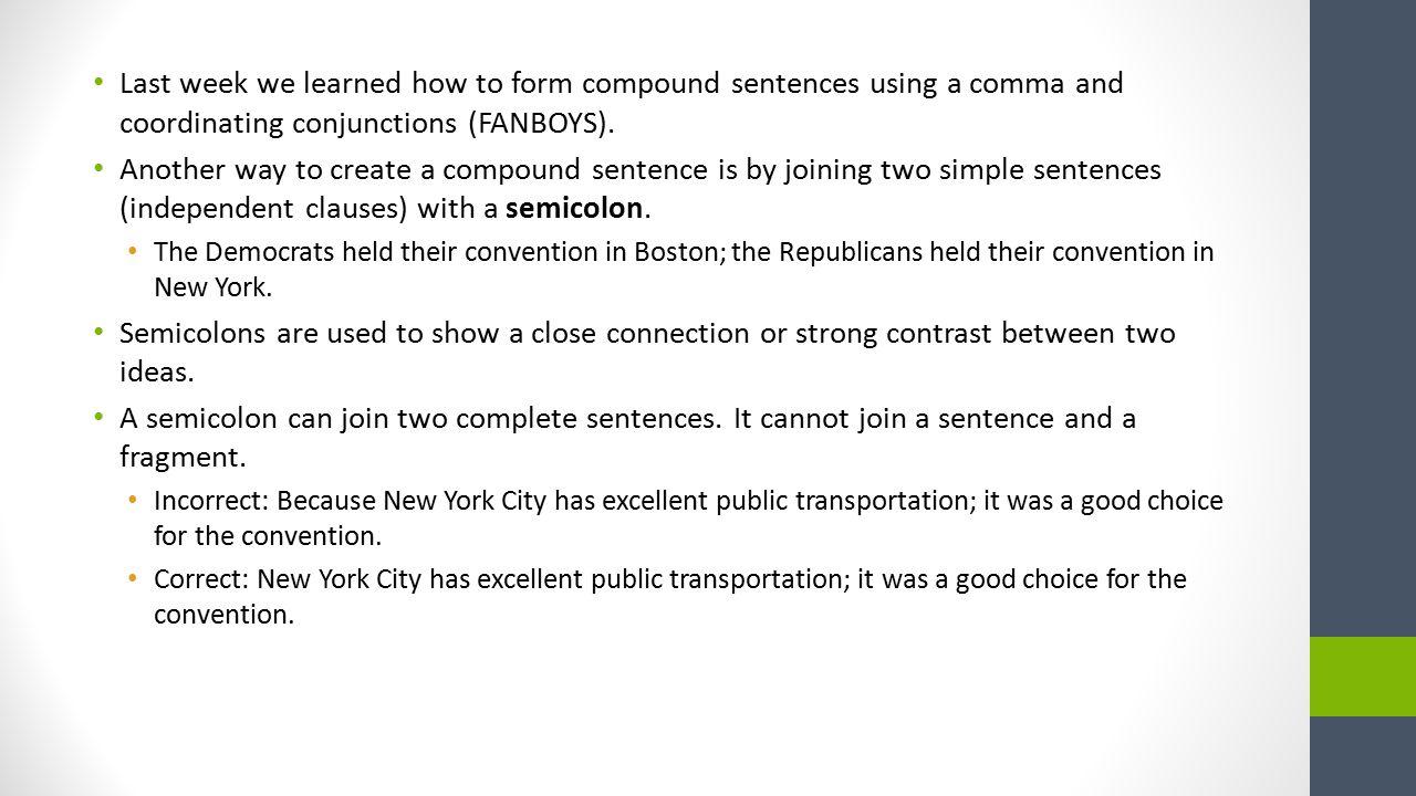 Compound Sentences. - ppt download