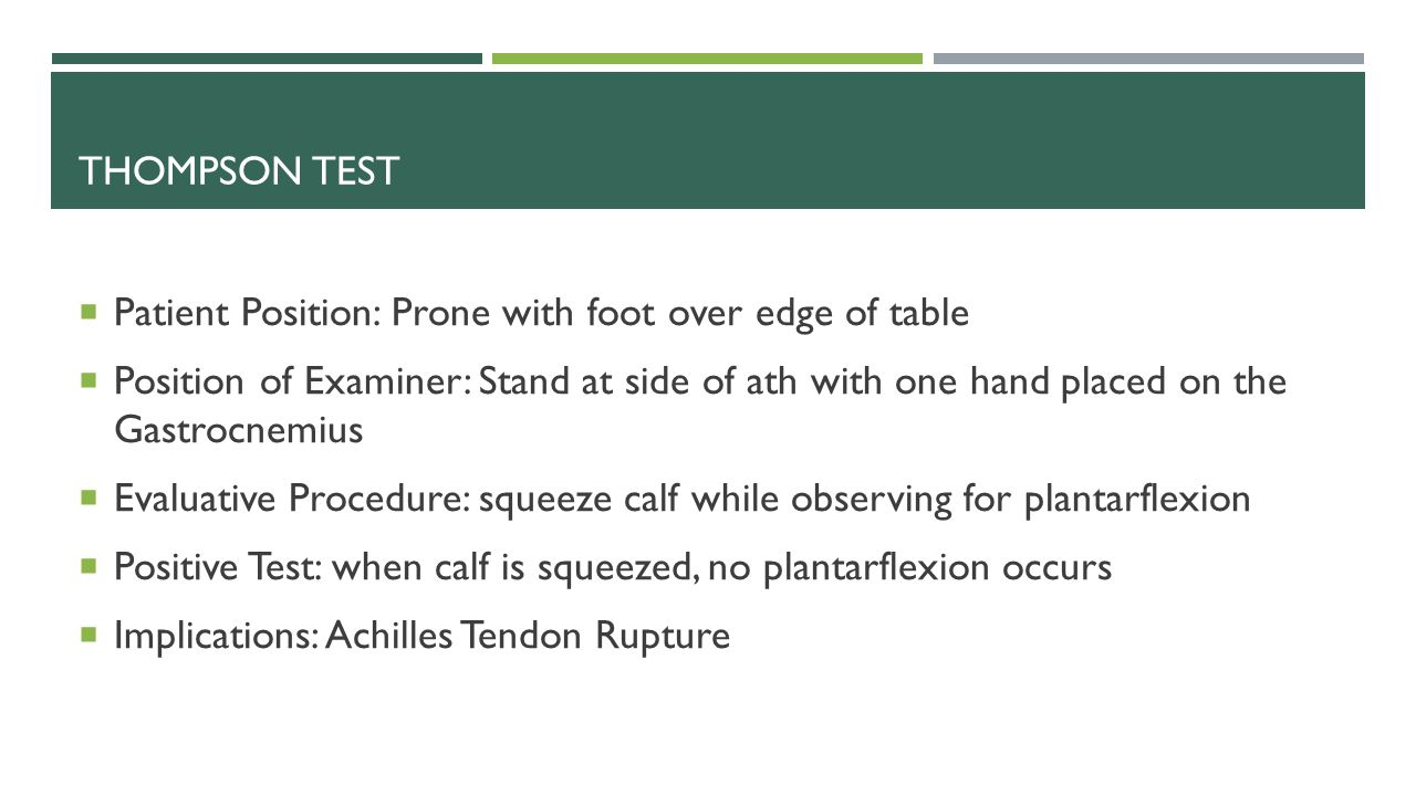 Foot And Ankle Special Tests Ppt Download