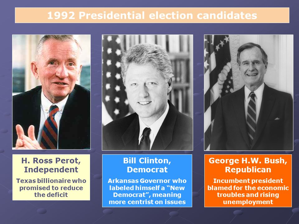 the promise of no new taxes during the 1992 presidential election Us presidential election results pages: [1] 2 3 4 5: author: topic: how did george hw bush lose in 1992 (read 27163 times) scam of god einzige yabb god posts.