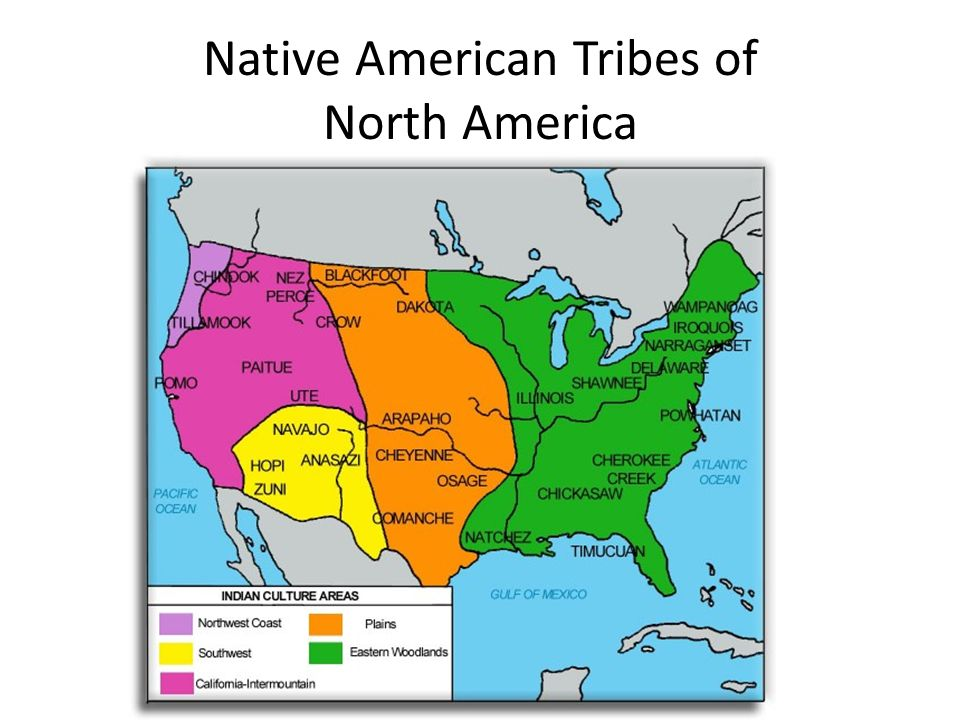 Native American Tribes of North America