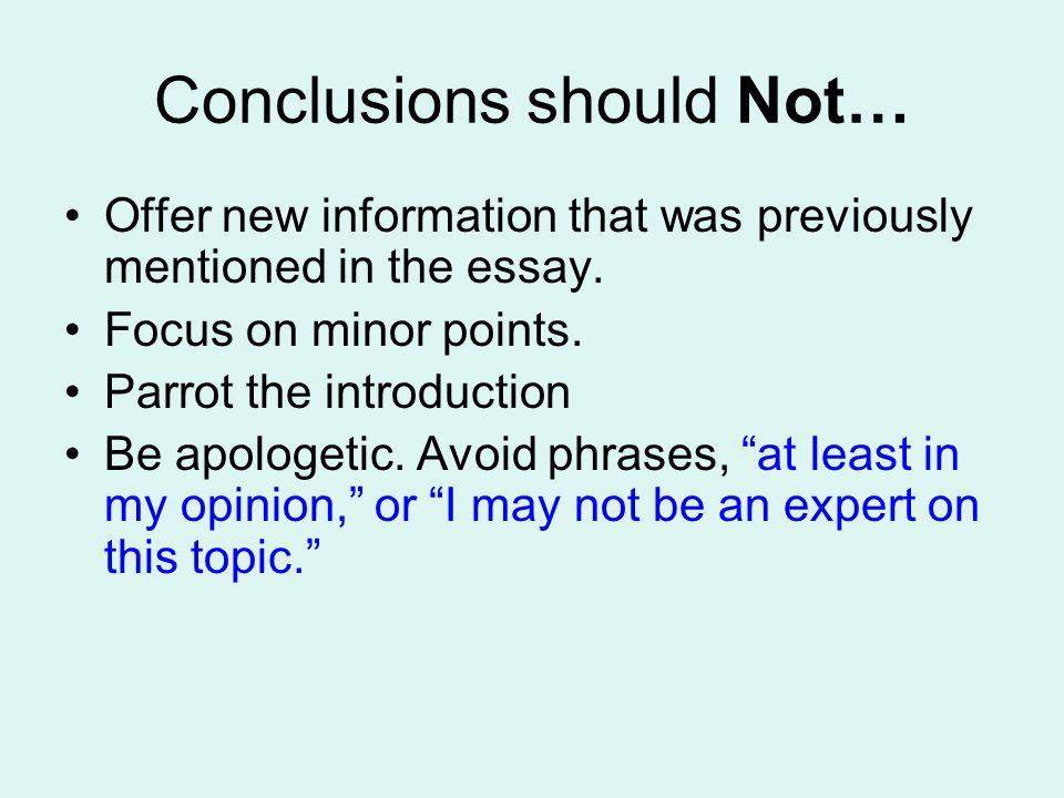 conclusions ppt video online 8 conclusions