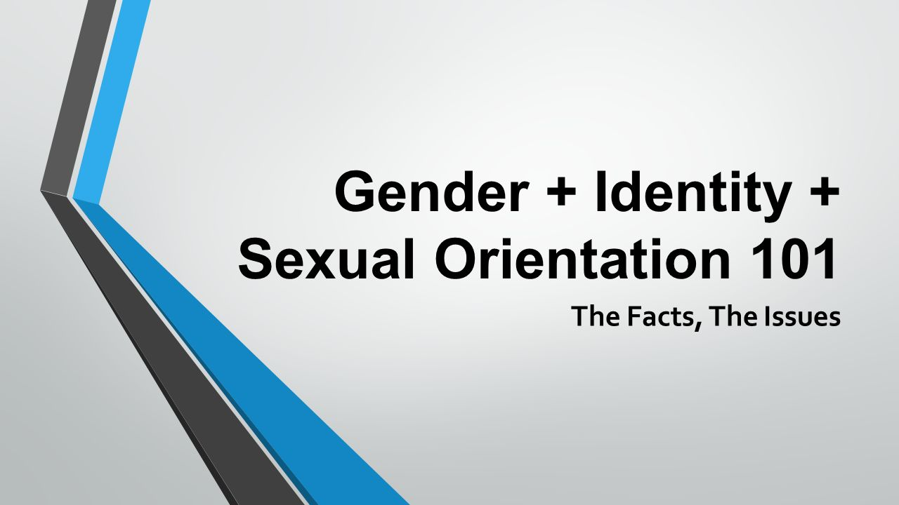 Gender and sexual orientation