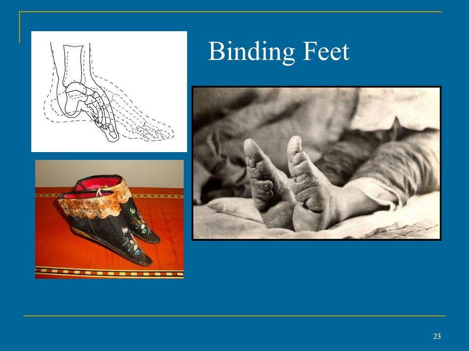 Foot binding tradition essay