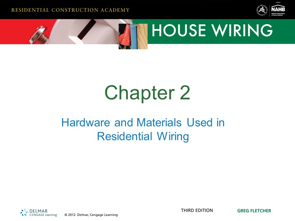 hardware and materials used in residential wiring