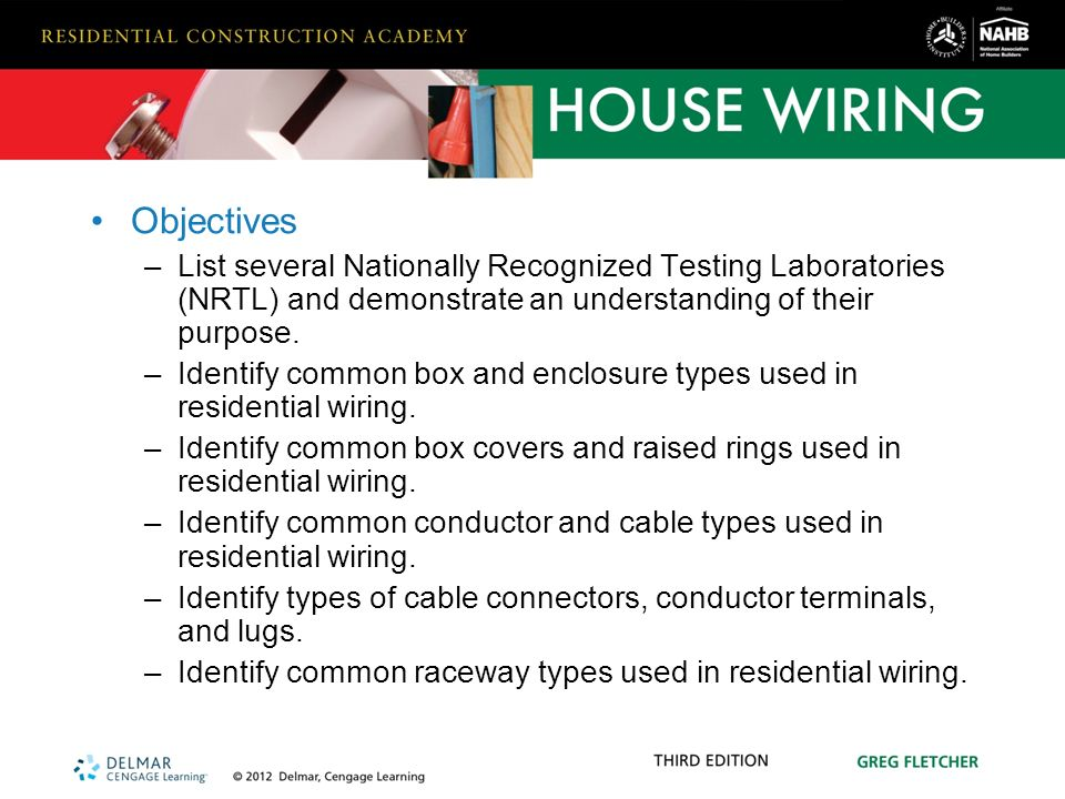 hardware and materials used in residential wiring - ppt download,