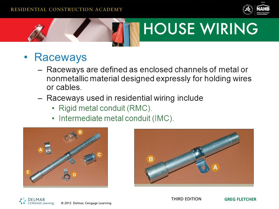 hardware and materials used in residential wiring ppt video online rh slideplayer com Metal Wire Raceway Wire Cable Raceway