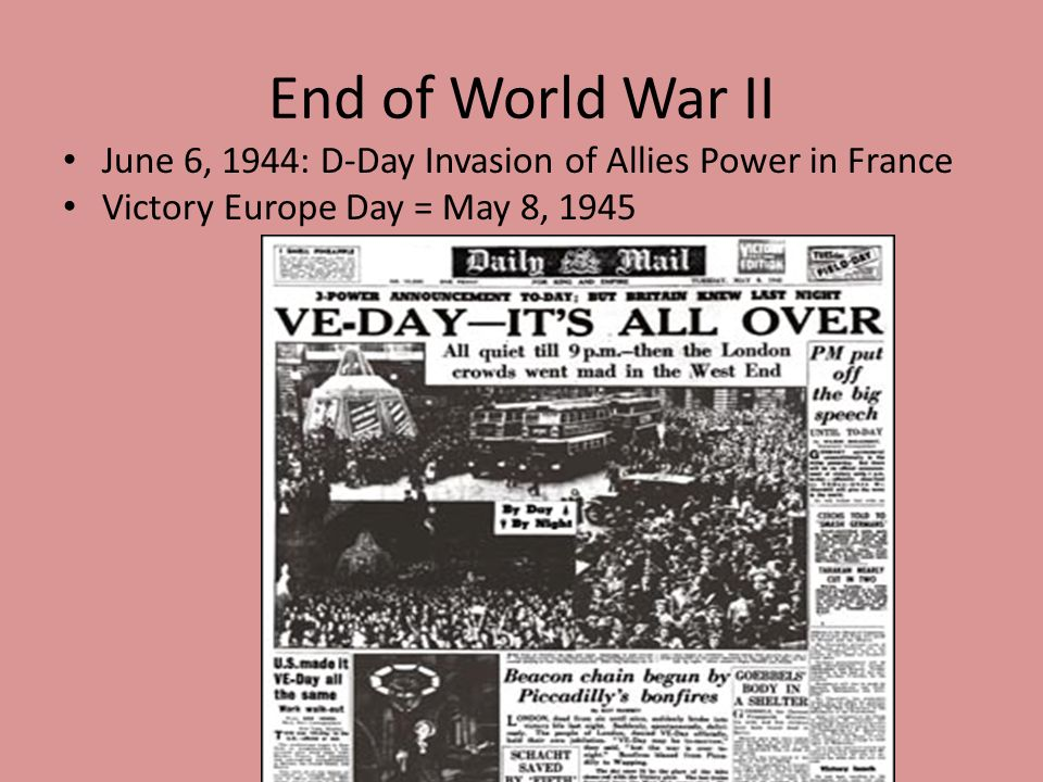 End of ww2 date in Brisbane