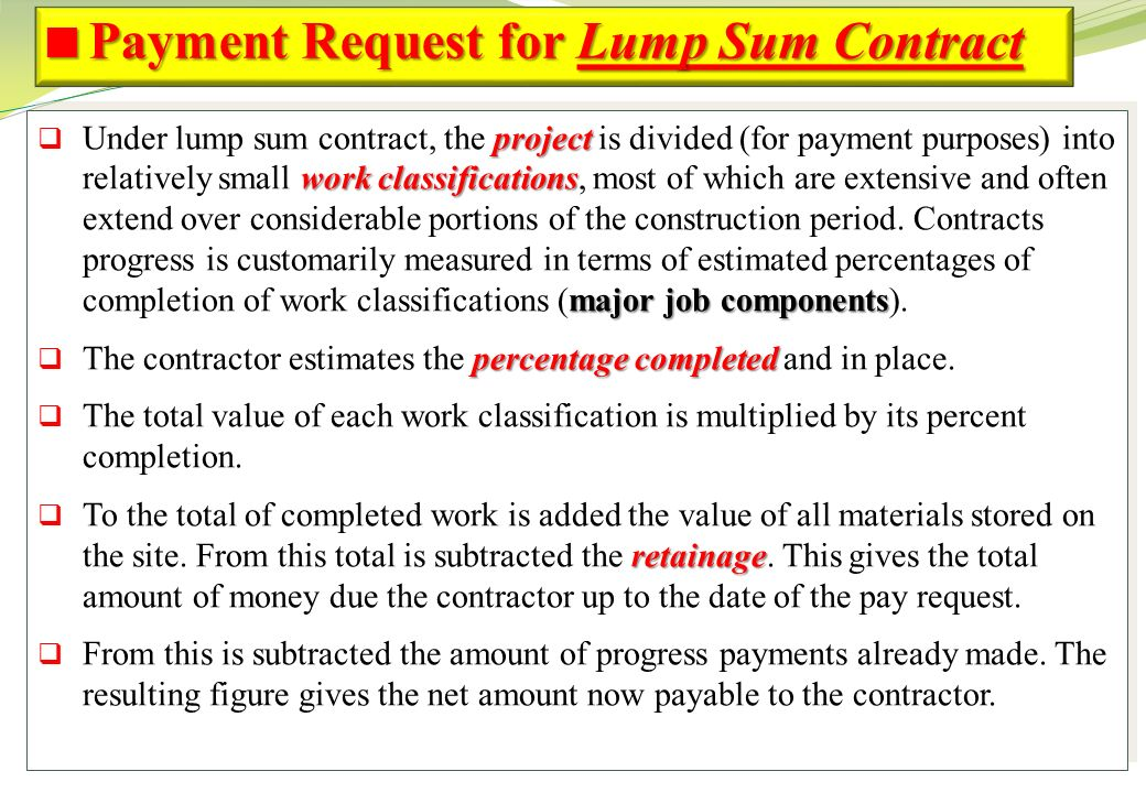 Topic 7 project cash flow ppt video online download payment request for lump sum contract altavistaventures Image collections