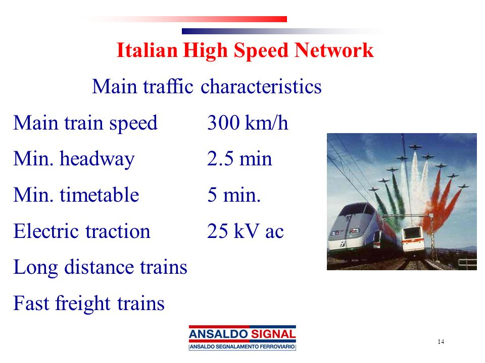 Italian High Speed Network