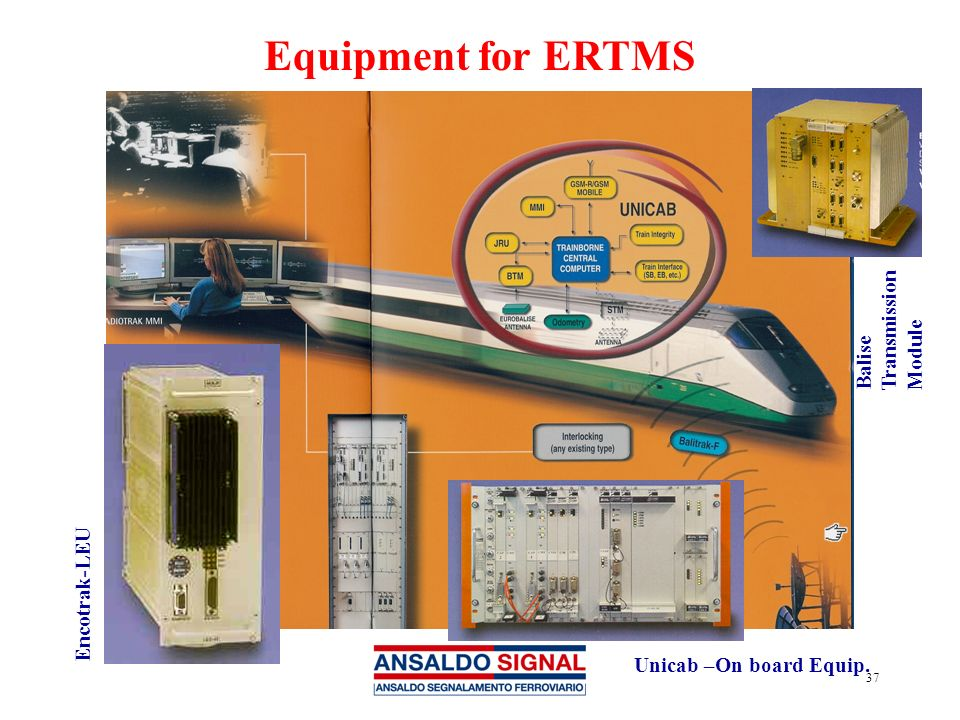 Equipment for ERTMS Balise Transmission Module Encotrak-LEU