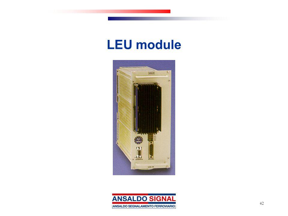LEU module