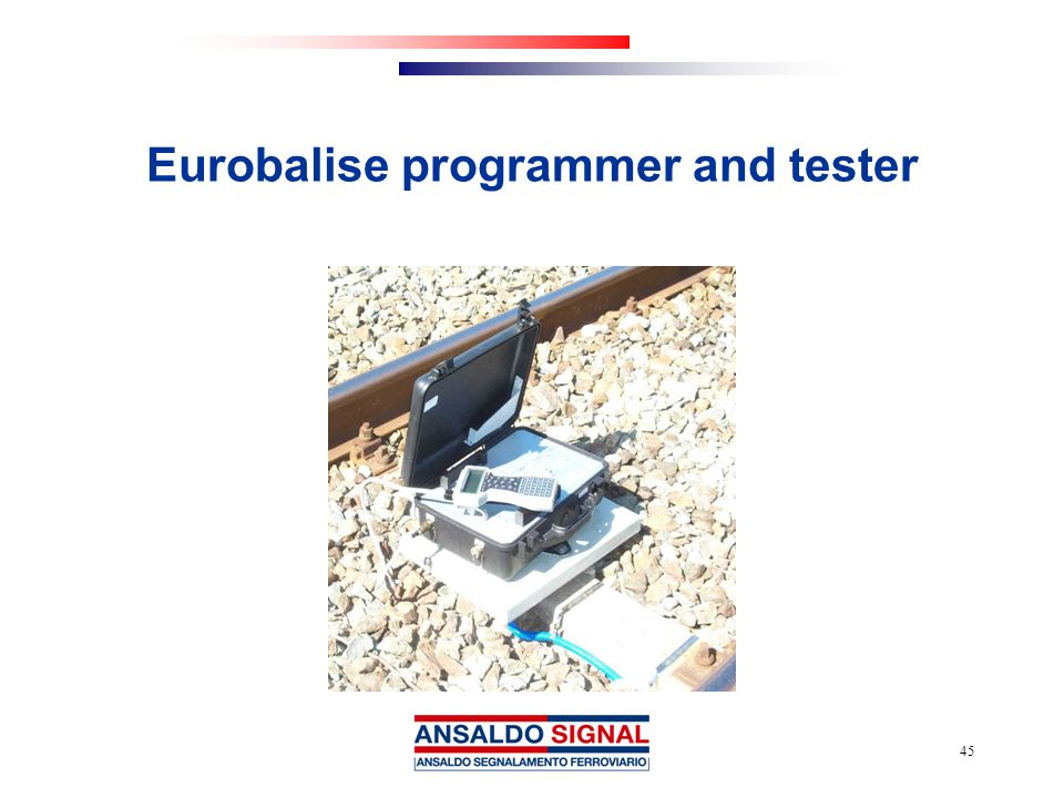 Eurobalise programmer and tester
