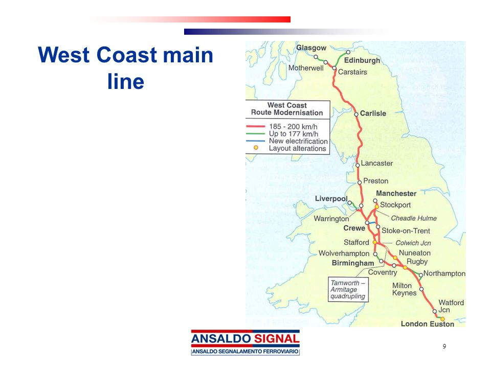 West Coast main line