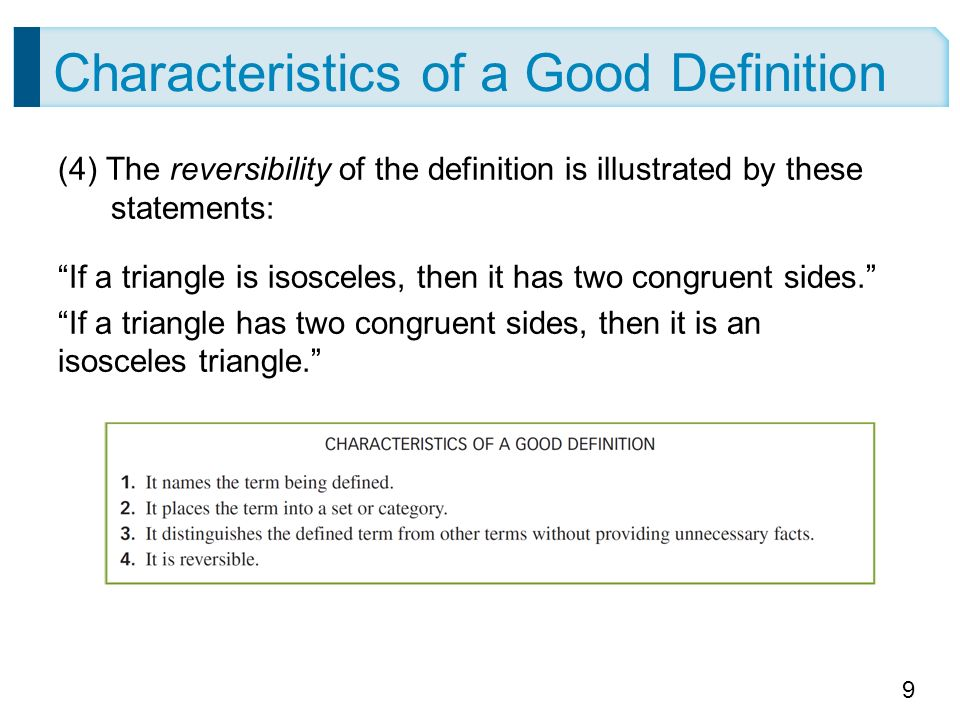 the characteristics of a good definition Note that we're talking about the characteristics of a good leader these are   effective management is about the smooth operation of a well-defined unit,.