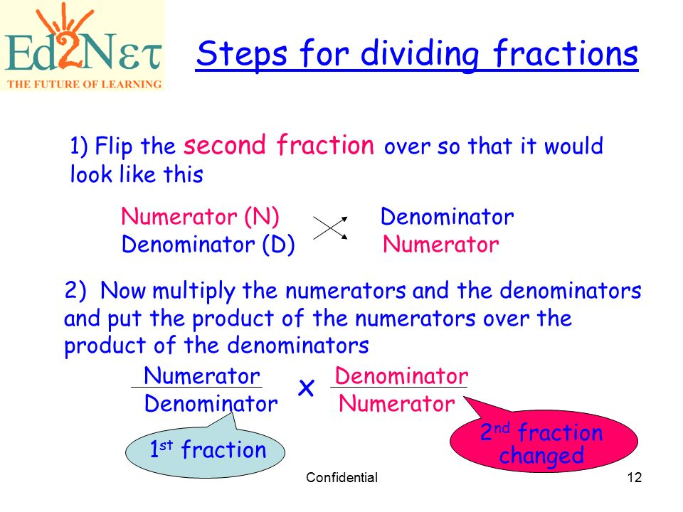 Multiplying and Dividing Fractions - ppt download