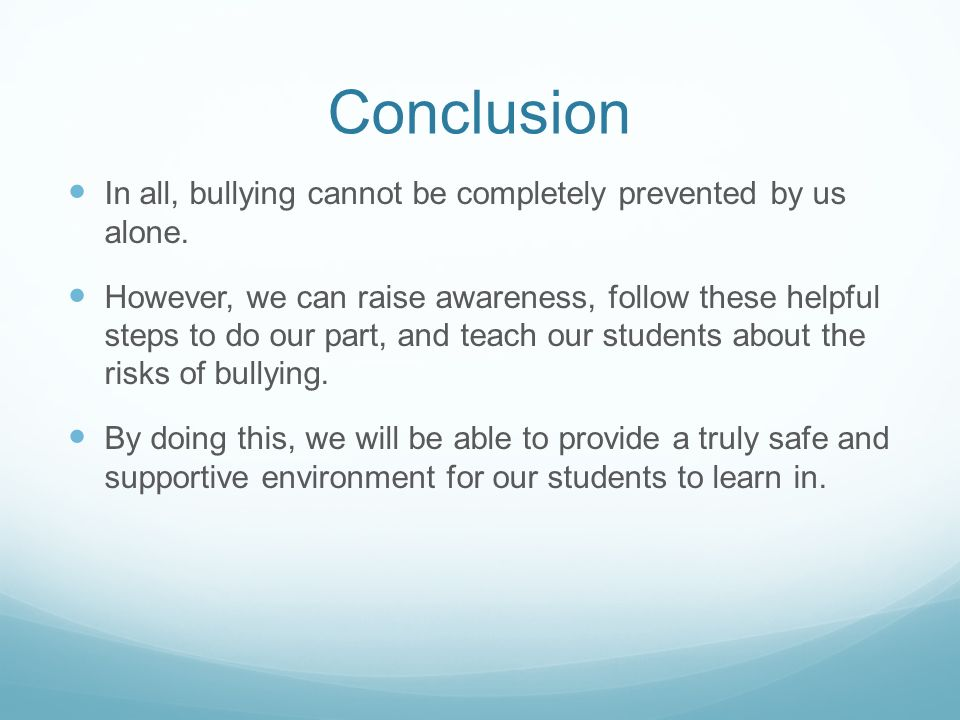 preventing bullying in schools essay Menu what is new school bullying essay topics this article  below for speech  about technology to try to stop bullying is an instant speech topics so i cannot.