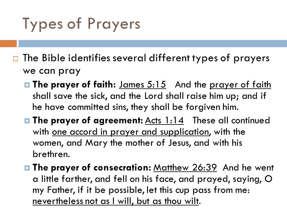 What: types of prayer. - ppt download