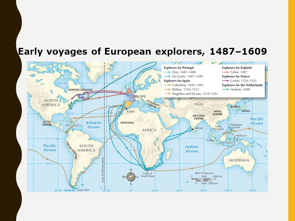 Early european explorers ppt video online download 17 early voyages of european explorers 14871609 gumiabroncs Gallery