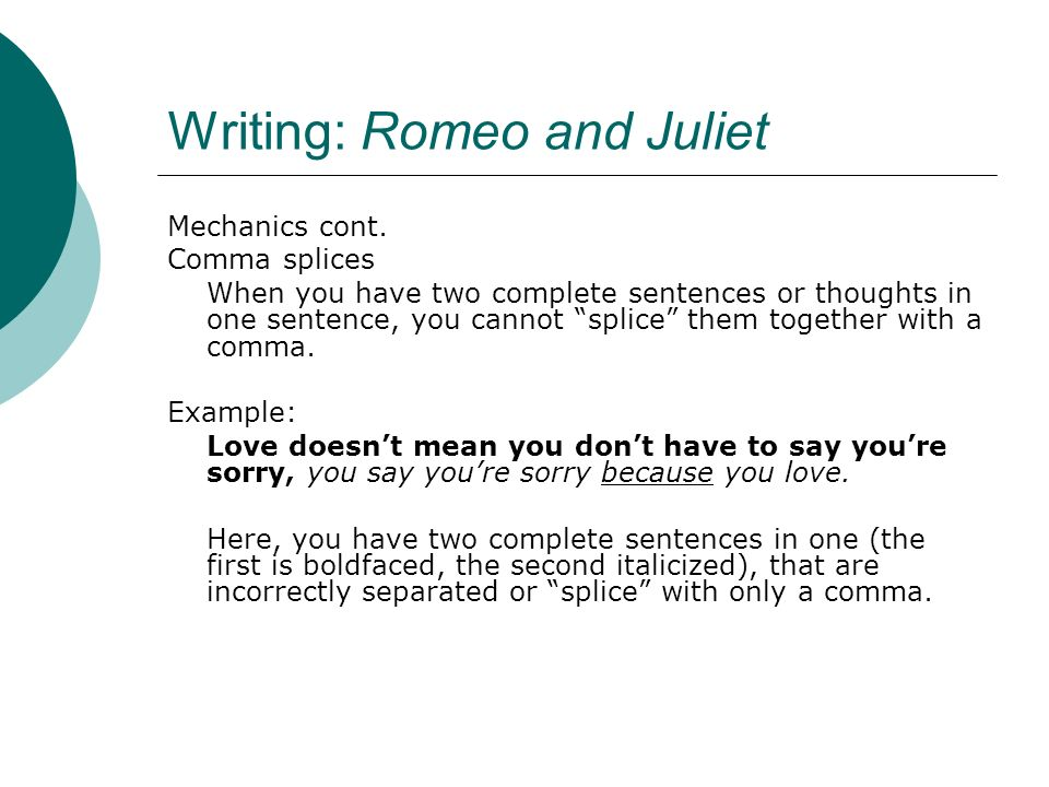 romeo and juliet analysis pdf