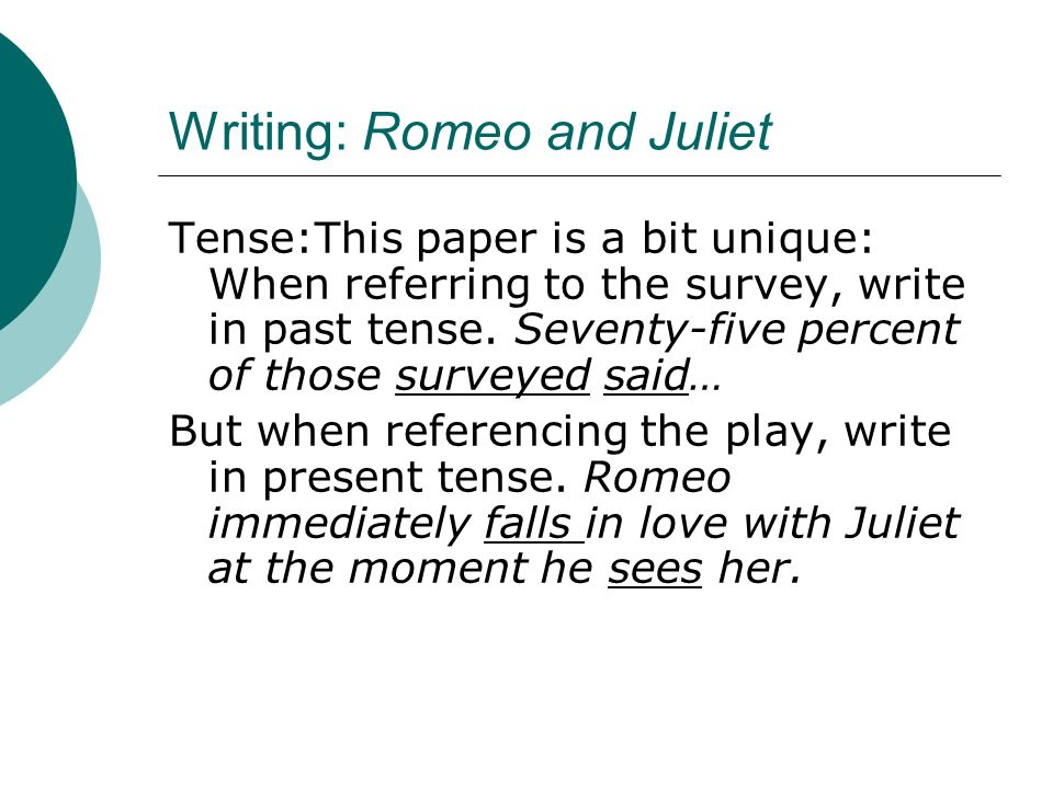 essay on romeo and juliet about love