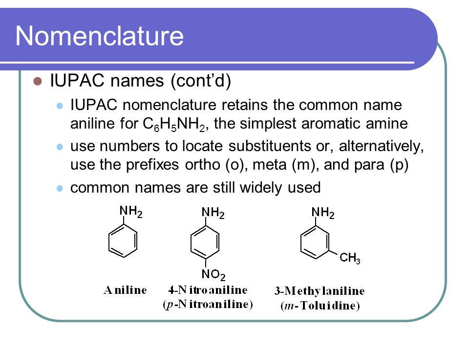 iupac nomenclature of aromatic compounds pdf