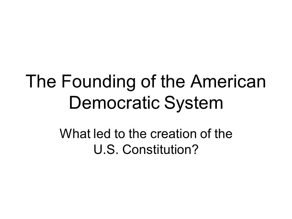 were the founding fathers democratic reformers Although both articles had good arguments, i believe that the yes side had a better onethe yes side gave more reasons that i agreed with about how democratic the founding fathers were.