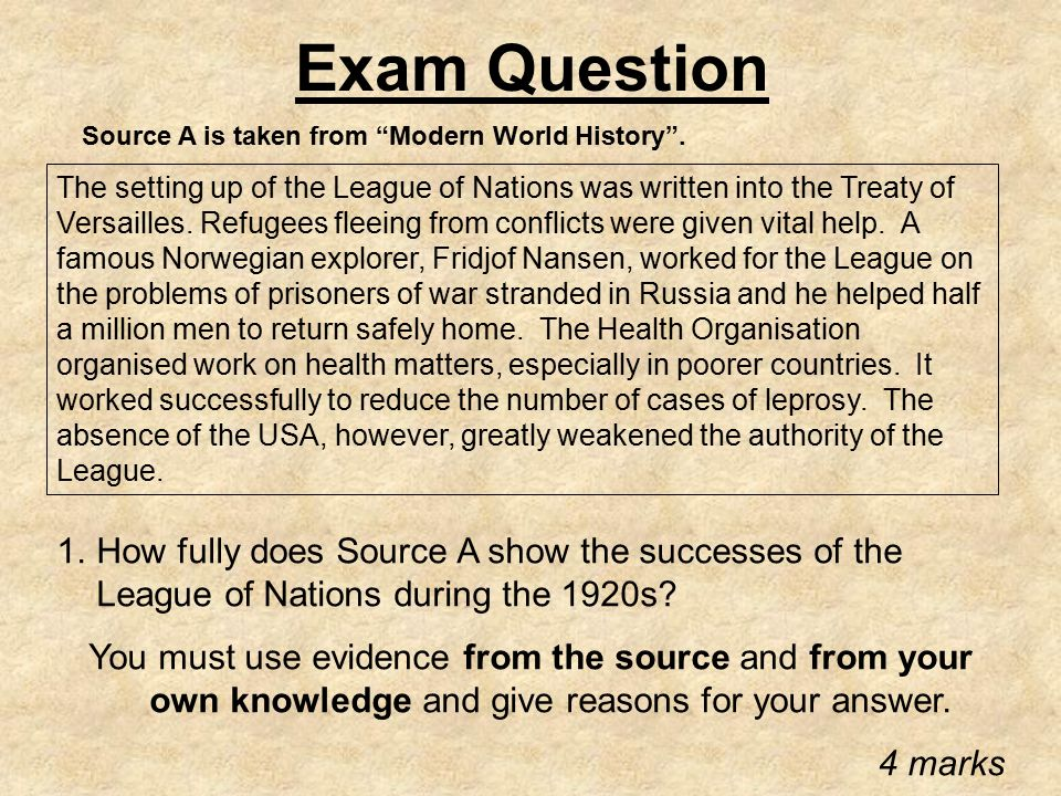 a history of the treaty of versailles and the league of nations As you prepare for the treaty of versailles apush exam questions he advocated for the creation of the league of nations to resolve international disputes the treaty of versailles consisted of 15 parts with 440 articles.