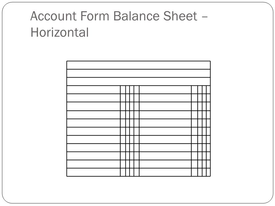53 Expanded Owners Equity Section of the Balance Sheet ppt – Report Form Balance Sheet