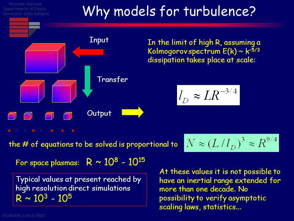 Why models for turbulence