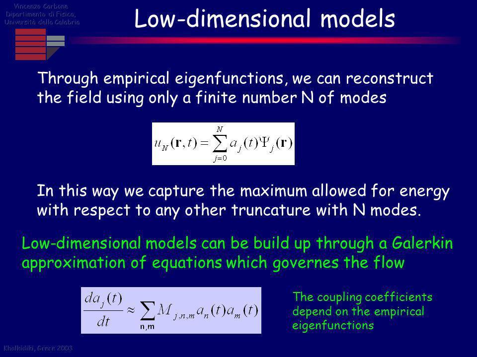 Low-dimensional models