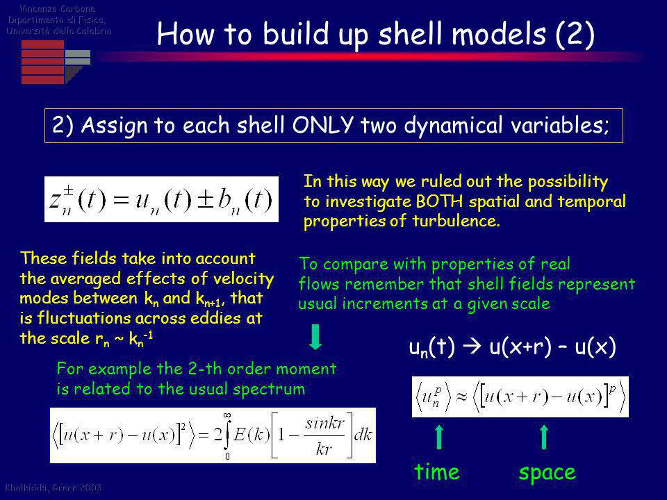 How to build up shell models (2)