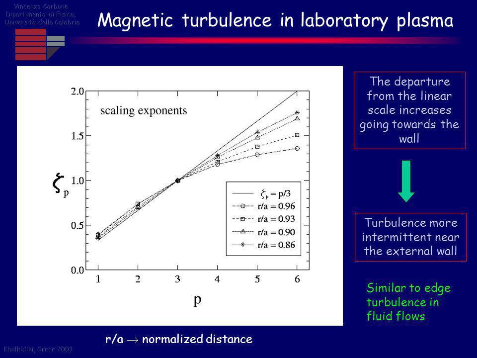 Magnetic turbulence in laboratory plasma