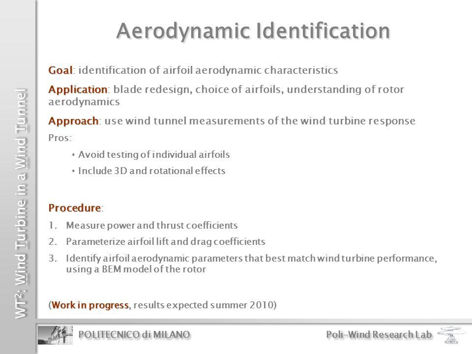 Aerodynamic Identification
