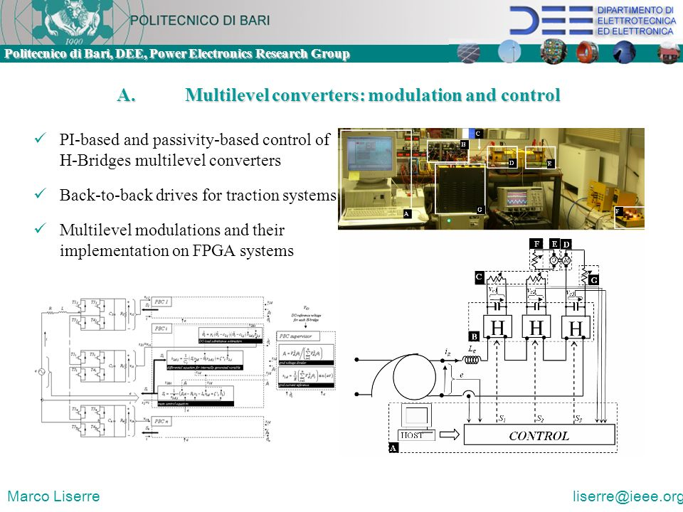 A. Multilevel converters: modulation and control
