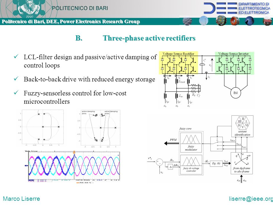 B. Three-phase active rectifiers